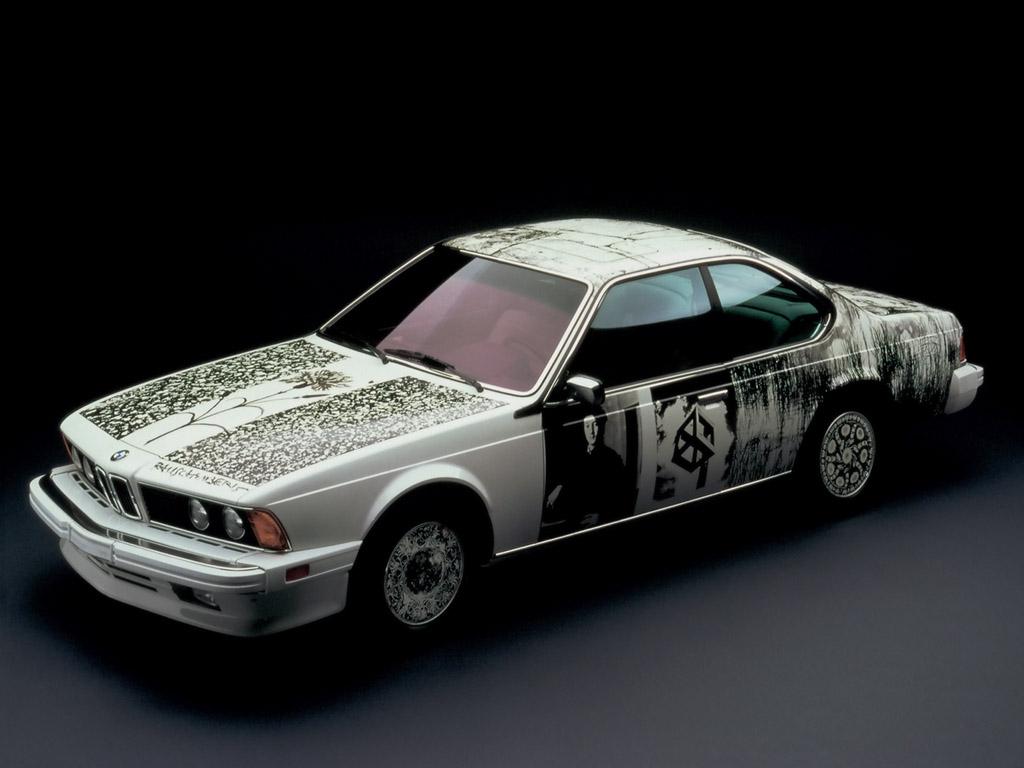 1986-BMW-635-CSi-Art-Car-Robert-Rauschenberg